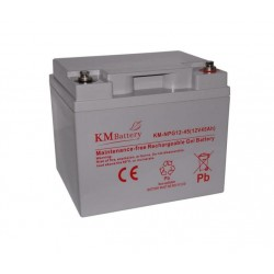 Akumulator żelowy KM BATTERY NPG 45- 12V 45Ah