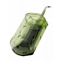 Koszyk zanętowy S-28 g OVAL BLOCKENDS Standard Green