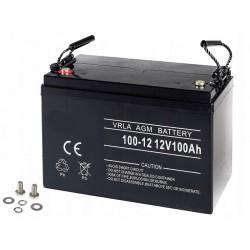 Akumulator Żelowy   AGM  100  ah   Do  silnika elektrycznego